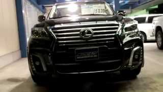 ノースパインツリー2014 LEXUS LX570 WALD BLACK BISON EDITION LUXURY