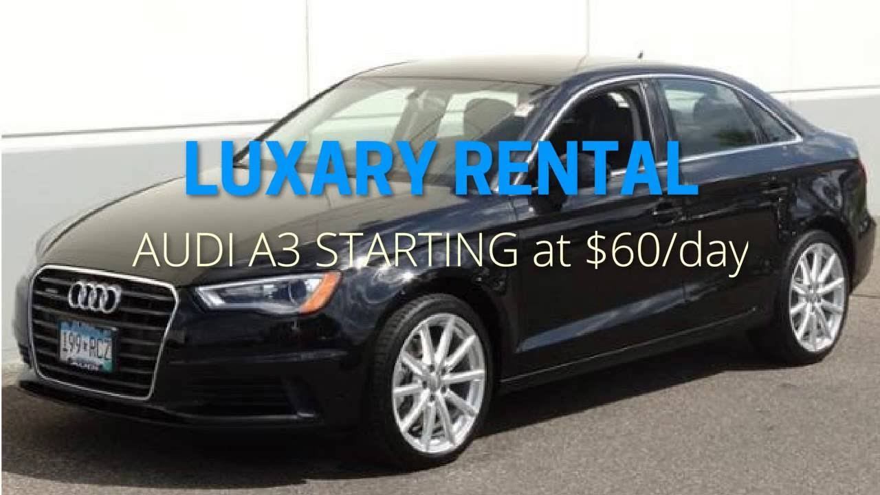 Audi A Car Rental Minneapolis ShareFleet Rentals Luxury Car - Audi rental cars