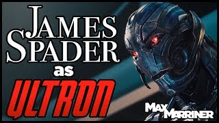 James Spader as Ultron (Marvel's Avengers) (Actor Piece) - Max Marriner