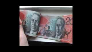 Australian Currency / Canadian plastic money