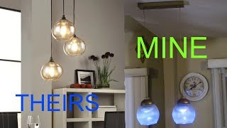 Dollar Tree DIY Pendant Lighting