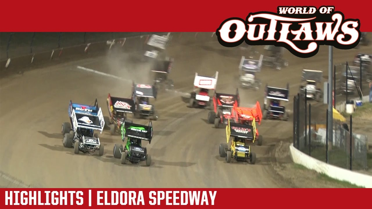 world of outlaws craftsman sprint cars eldora speedway may 13