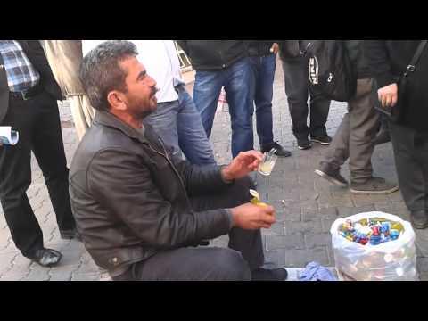 limon sıkacağı satan adam