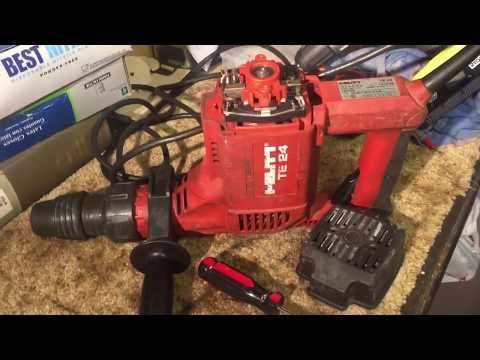HILTI TE24 Impact Hammer Drill Repair