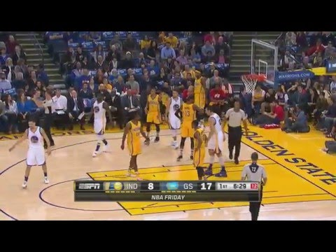 GSW Warriors vs Indiana Pacers Part 1