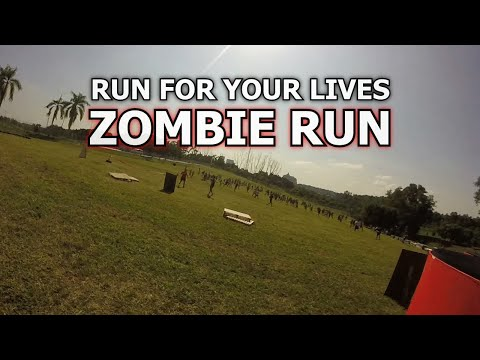 Run for Your Lives Malaysia 2014 Zombie Run Highlights Reel  GoPro