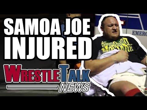 Samoa Joe INJURED! John Cena WWE Feud SCRAPPED?!   WrestleTalk News Jan. 2018