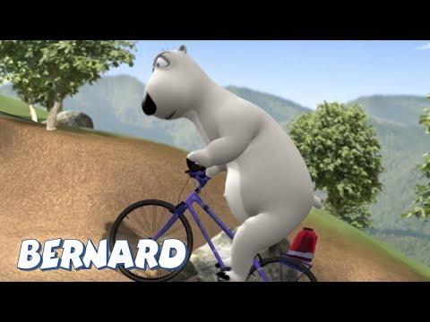 Bernard Bear | Mountain Biking AND MORE | Cartoons For Children