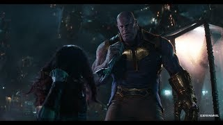 """Avengers Infinity War """"Battle on Knowhere""""  Thanos vs Guardians of the Galaxy HD"""