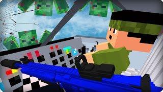 Летим на нашу базу [ЧАСТЬ 18] Зомби апокалипсис в майнкрафт! - (Minecraft - Сериал)