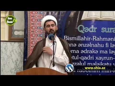 Hacı Rza Cümə xütbəsi 26052017