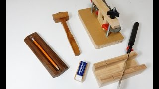 Not only are these easy to make projects, they can be made very quickly with some basic woodworking tools and used for the ...