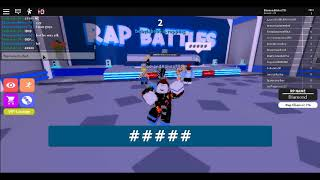 Roblox Rap Battles wierd game