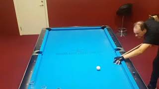 Artistic pool, extreme power and skills!