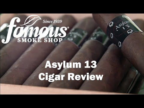 Asylum 13 Cigars Overview - Famous Smoke Shop