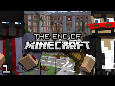 The End Of Minecraft World In Pieces