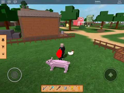 Animals Life Roblox Tofu Gets New Friends Farm Animals Farm Life Roblox Youtube