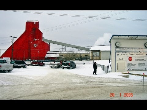 A Peek Into The Hudson Bay Mining and Smelting Co. in Flin Flon, Manitoba