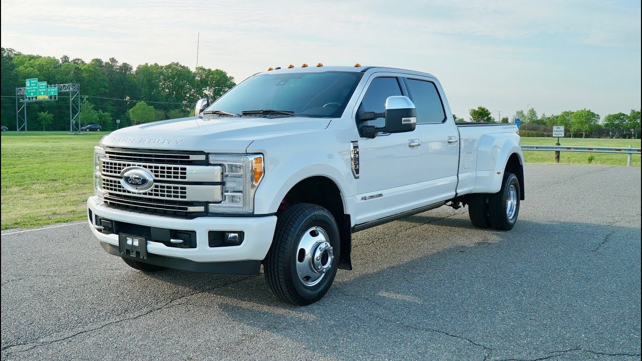 Davis Autosports 2017 F350 Dually Platinum For