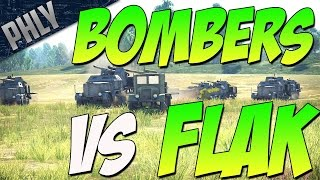 29-K & FLAK 88 Vs Bombers (War Thunder Gameplay)