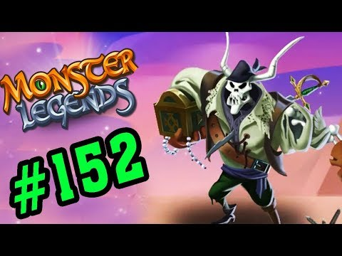 Monster Legends Game Mobiles - Ma Cướp Biển Caribe - Thế Giớ