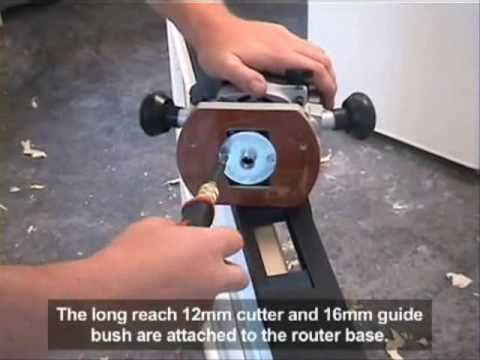 Trend Hinge Jig Video - Www.ToolOrbit.com