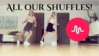 ALL OF OUR SHUFFLES! - izaandelle