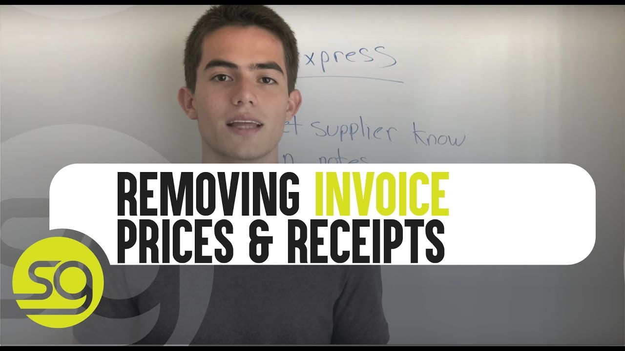 How To Remove Invoices Price And Receipts From Your Aliexpress Orders 30