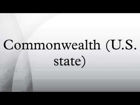 Commonwealth (U.S. state)
