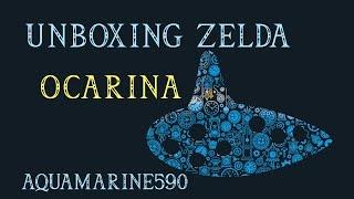 Unboxing - Zelda Ocarina 12 hole - ITA
