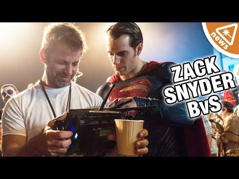 Zack Snyder Explains Batman v Superman's Martha Plot Hole! Nerdist  w Jessica Chobot