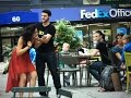 Extreme Domestic Abuse In Public   Social Experiment