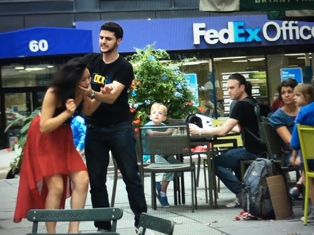 Extreme Domestic Abuse In Public! (Social Experiment)