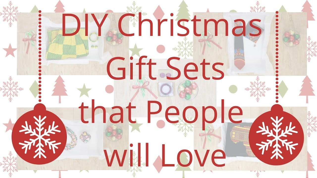 Christmas Gift Sets Diy.Diy Christmas Gift Set Ideas That People Will Love