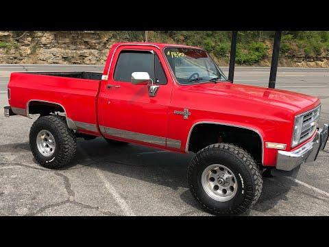 Test Drive 1985 Chevy K-10 Silverado 4x4 $14,900 Maple Motors #554