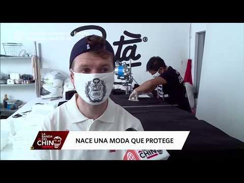 Emprendedores Textiles Peruanos Elaboran Mascarillas Demostrando Su Creatividad