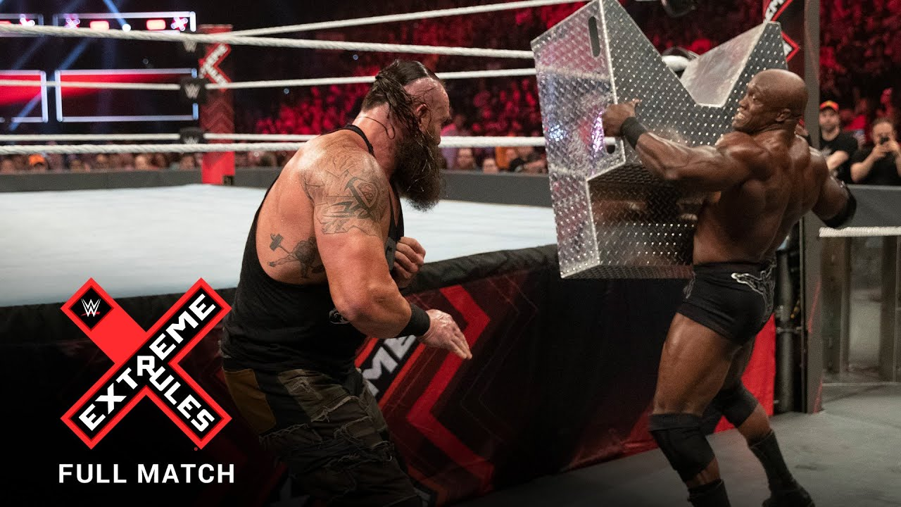 FULL MATCH - Braun Strowman vs. Bobby Lashley - Last Man Standing Match: WWE Extreme Rules 2019