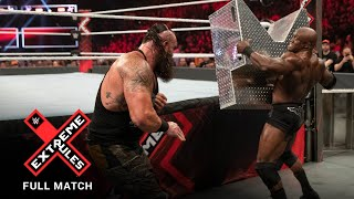 FULL MATCH - Braun Strowman vs. Bobby Lashley - Last Man Standing Match: WWE Extreme Rules 2019