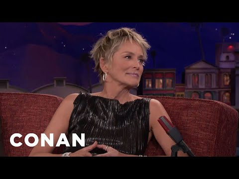 "Sharon Stone On Steven Soderbergh's Interactive New Series ""Mosaic""  - CONAN on TBS"