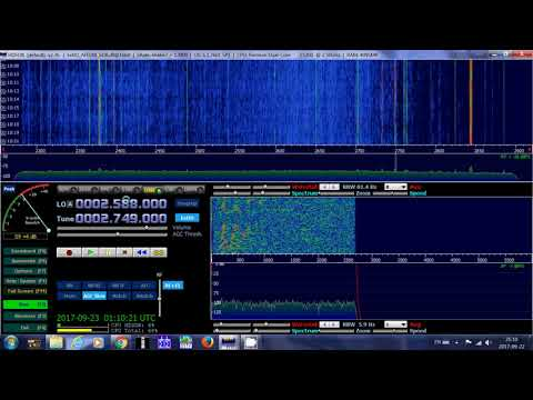 VCO Sydney Radio Nova Scotia Canada Maritime Weather 2749 Khz Shortwave