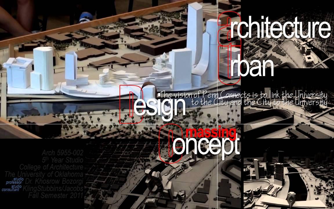Philadelphia studio phase ii urban design for Urban design concepts architecture