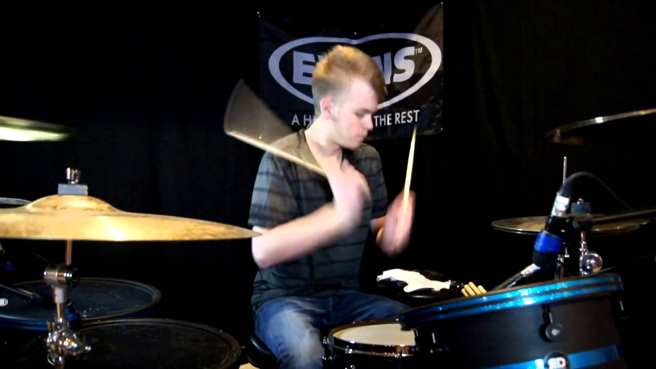 Bowling For Soup - 1985 - Drum Cover - Brooks - YouTube