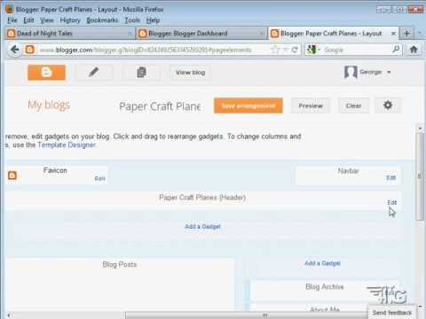Blogger Tutorial for Beginners - Basic Google Blogger Setup