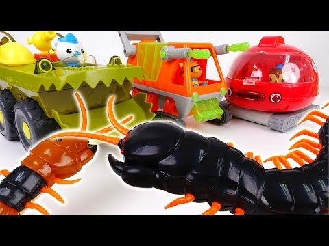 Thumbnail: Super Size Centipedes Attack~! Go All Octonauts Gups