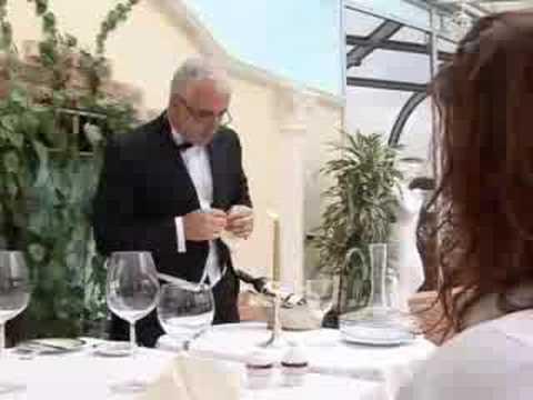 Подача красных вин
