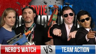 The Nerd's Watch Vs. Team Action - Movie Trivia Team Schmoedown