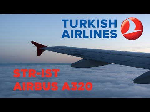 Turkish Airlines A320 Flight Stuttgart - Istanbul