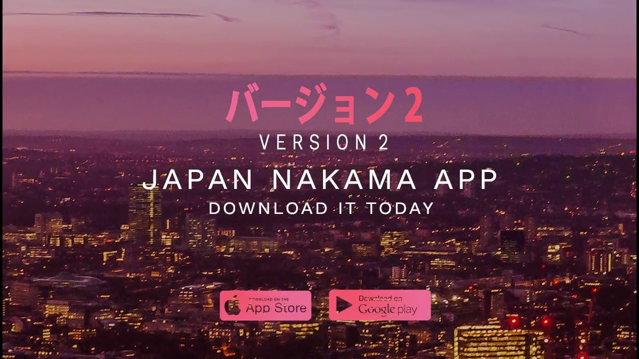Discover a Japan hidden in London - Japan Nakama App (Version 2 - バージョン2)