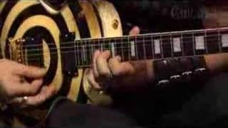 Zakk Wylde Guitar solo
