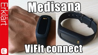 Activity Tracker mit Armband - Medisana ViFit connect - Test / Review (Deutsch)